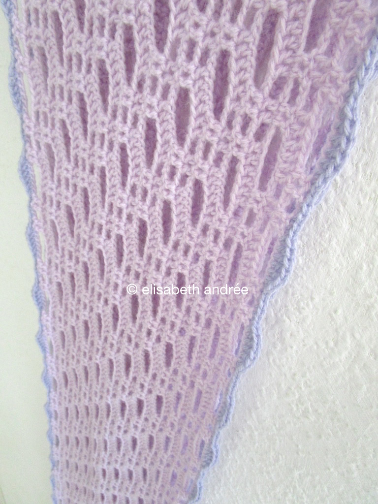 Lacy Crochet Scarf Unique Crochet Lacy Lilac Scarf Done Of Perfect 44 Ideas Lacy Crochet Scarf