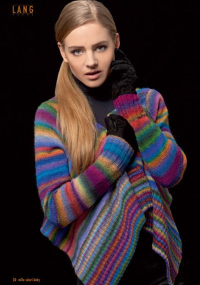 Lang Yarns Mille Colori Baby Inspirational Breipatroon Vest Of Gorgeous 46 Models Lang Yarns Mille Colori Baby