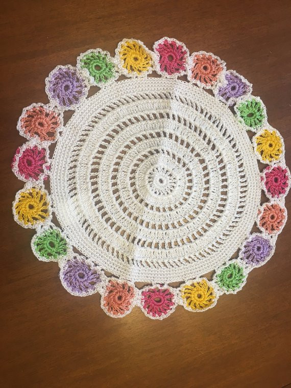 Large Doilies Awesome Crocheted Doily Table Doilies Doilie Vintage Hand Of Amazing 40 Ideas Large Doilies
