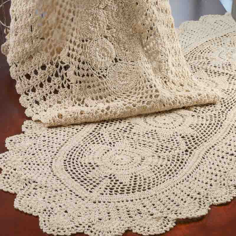 Large Doilies Awesome Oval Ecru Crochet Doily Runner Crochet and Lace Doilies Of Amazing 40 Ideas Large Doilies