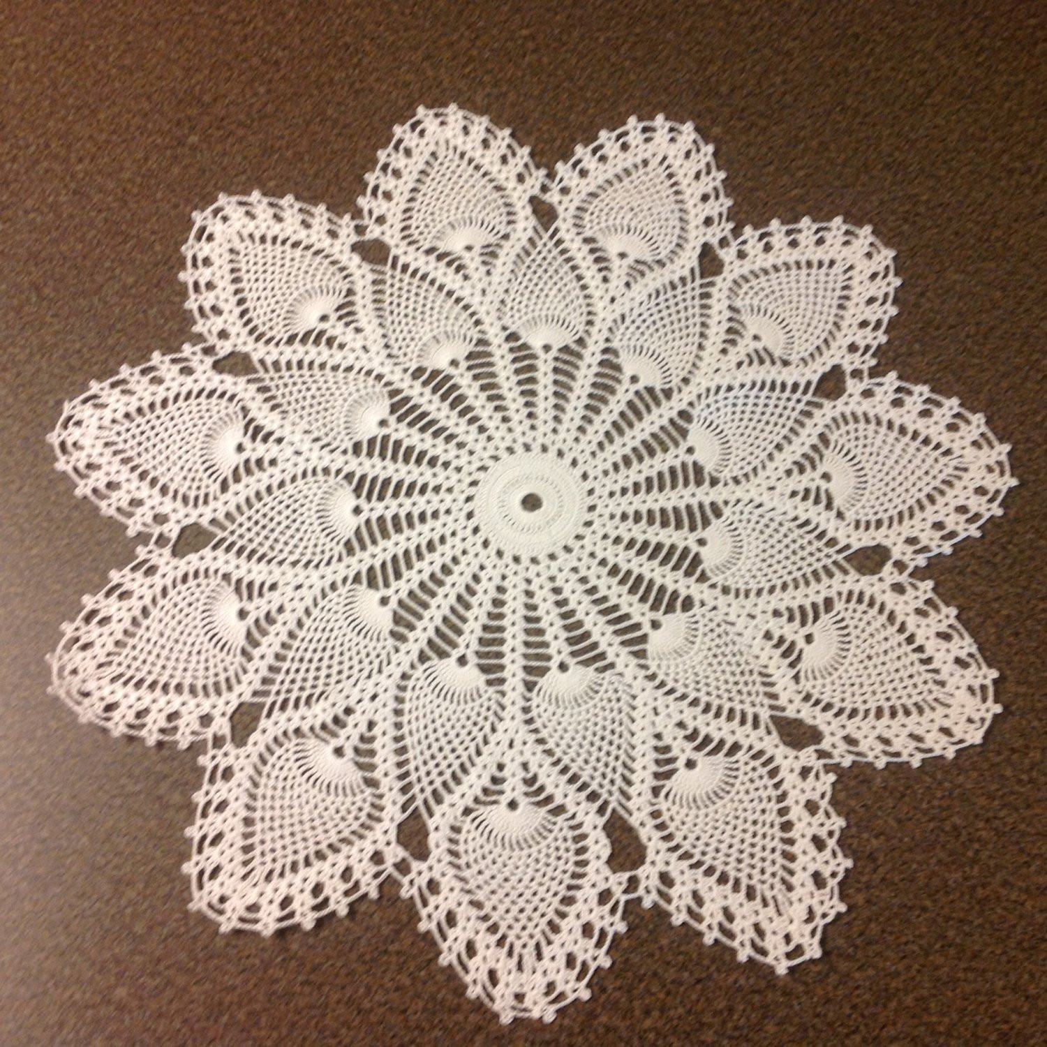 Large Doilies Beautiful White Pineapple Doily Of Amazing 40 Ideas Large Doilies