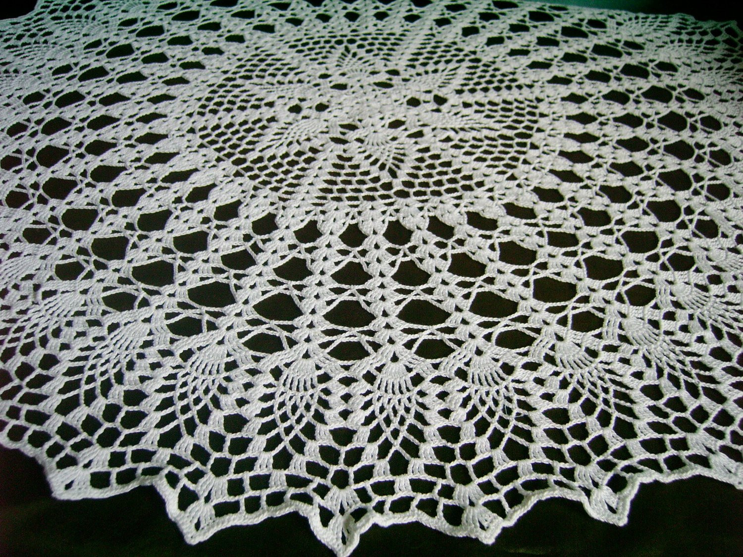Free Crochet Patterns For Doilies Dancox for