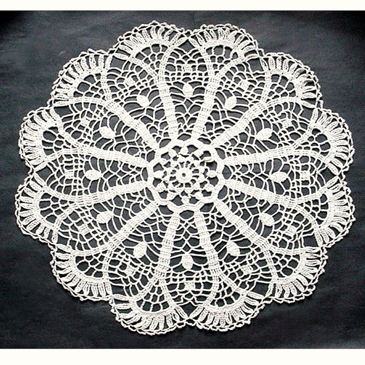 Large Doilies Fresh Vintage Crocheted Doily Scalloped Round Of Amazing 40 Ideas Large Doilies