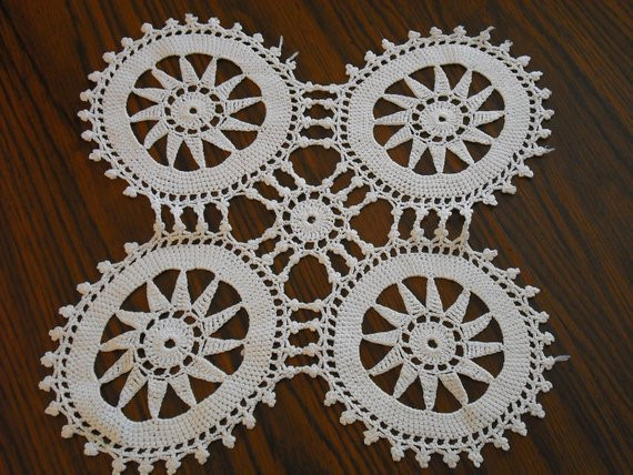 Large Doilies Inspirational Chair Doilies Doily Four Extra White by Eaupleinevintage Of Amazing 40 Ideas Large Doilies