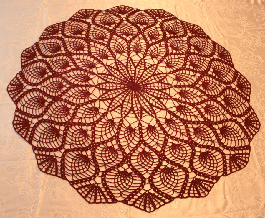 Large Doilies Inspirational Pineapple Doily by Hermioneann On Deviantart Of Amazing 40 Ideas Large Doilies