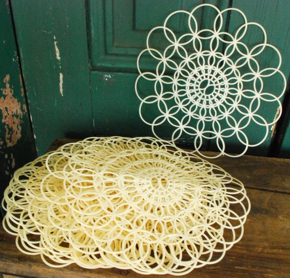 Large Doilies Lovely Vintage Plastic Doilies Lace Large Doily Shabby Chic Of Amazing 40 Ideas Large Doilies