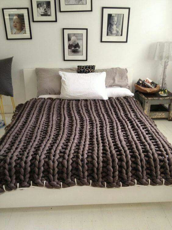 Large Knit Blanket Awesome 127 Best Images About Piecera On Pinterest Of New 40 Images Large Knit Blanket