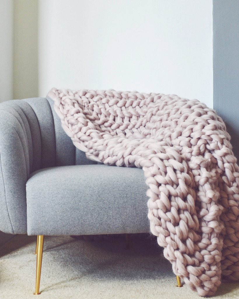 Large Knit Blanket Awesome the Extra Handmade Chunky Knit Blanket – Pomme Pomme Of New 40 Images Large Knit Blanket