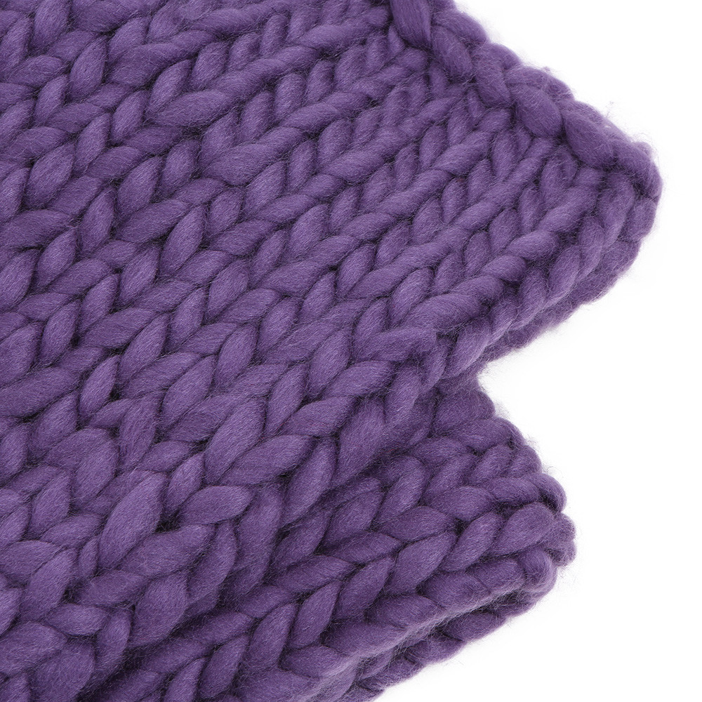 Large Knit Blanket Beautiful Warm Chunky Knit Blanket Thick Yarn Bulky Big sofa Throw Of New 40 Images Large Knit Blanket