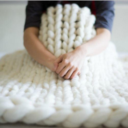 Large Knit Blanket Best Of Extreme Cream Knitted Blanket Of New 40 Images Large Knit Blanket