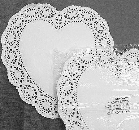 Large Paper Doilies Beautiful 20 Big Heart Shape Lace Paper Doilies 3color 267mm 10 Of Luxury 44 Ideas Large Paper Doilies