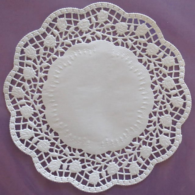 "Large Paper Doilies Best Of Large Rosie 27cm or 10 5"" Beautiful Embossed White Of Luxury 44 Ideas Large Paper Doilies"