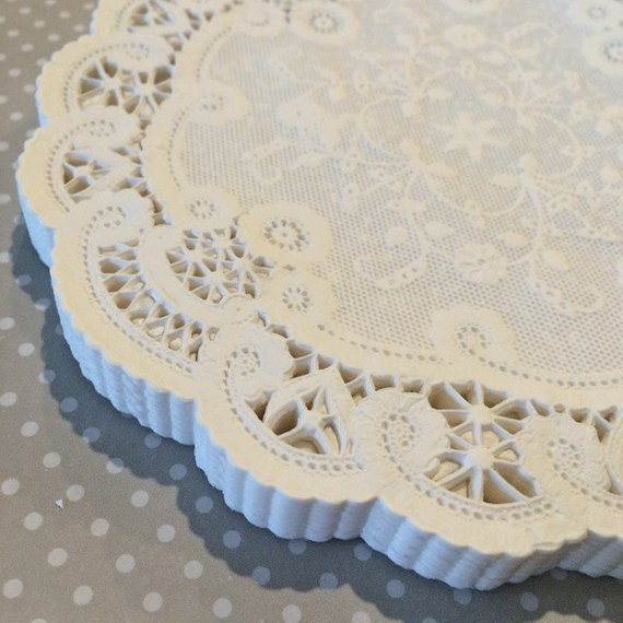 Large Paper Doilies Inspirational 50 French Lace Round Paper Doilies 6 Inch White by Of Luxury 44 Ideas Large Paper Doilies