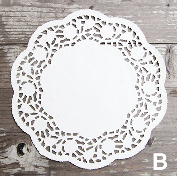 "100 x Paper Doilies 6 3"" Size from Twomysterybox"