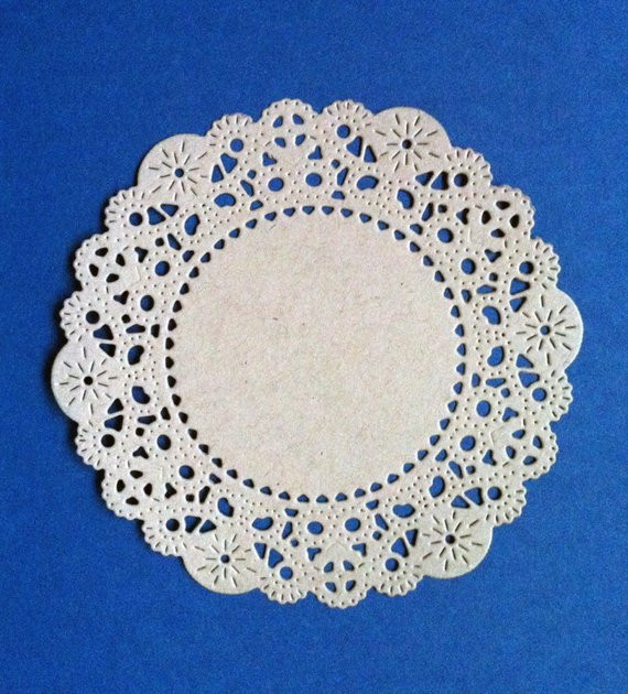"Large Paper Doilies Luxury Items Similar to Kraft Paper Elegant Doilies 4"" Of Luxury 44 Ideas Large Paper Doilies"