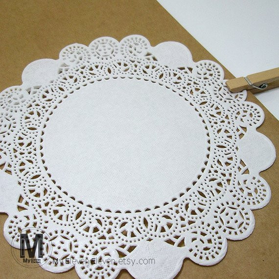 Large Paper Doilies Unique 50 Sheets 5 6 7inch Circle Paper Doilies Small Medium Of Luxury 44 Ideas Large Paper Doilies