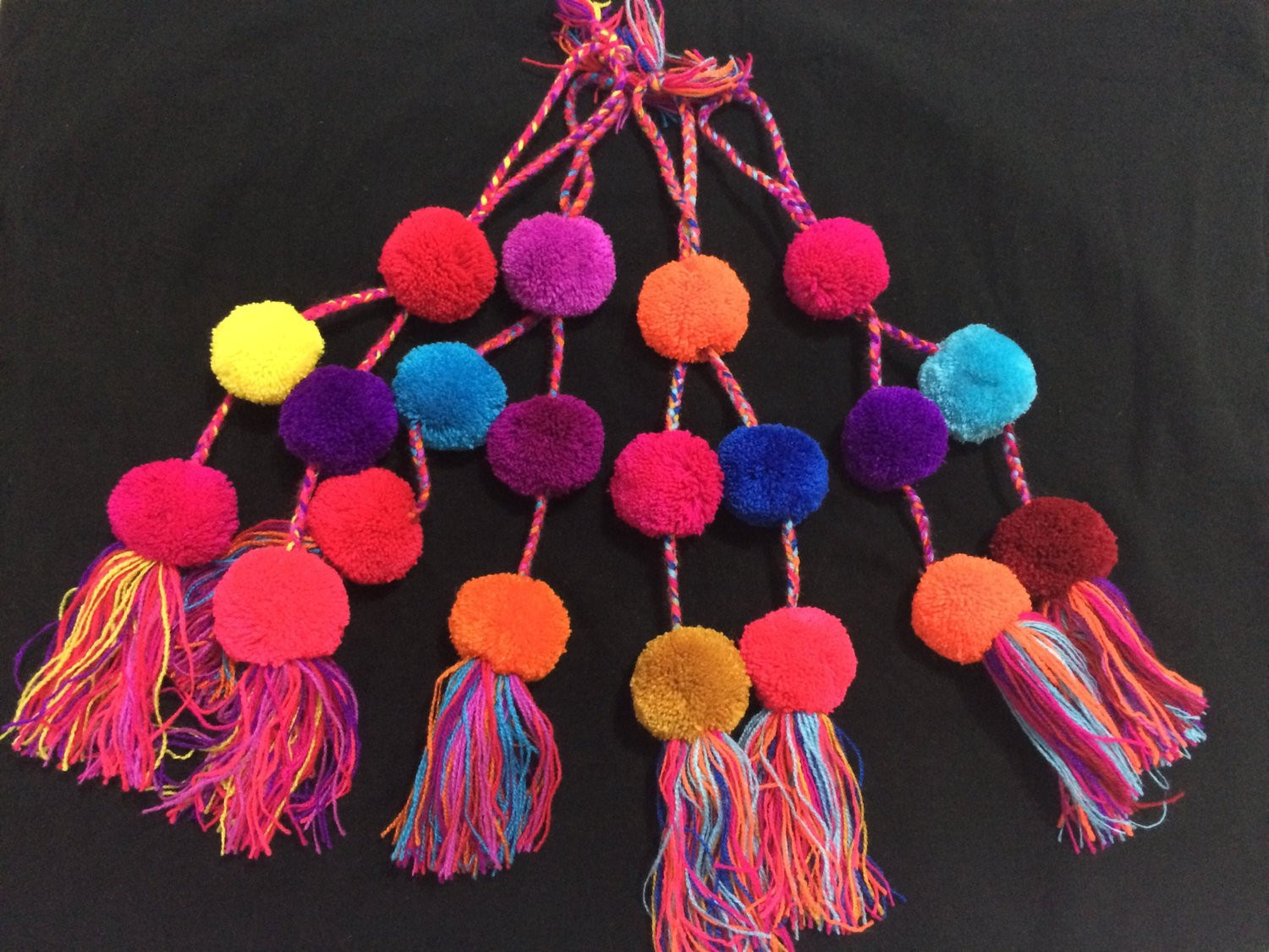 Large Pom Poms Awesome Multicolored Pom Poms Extra Big Size Colorful Mexican Of Beautiful 49 Photos Large Pom Poms
