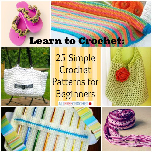 Learn to Crochet Beautiful Learn to Crochet 25 Simple Crochet Patterns for Beginners Of Top 49 Pictures Learn to Crochet