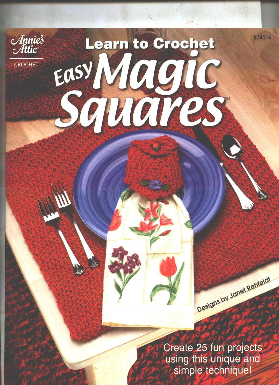 Learn to Crochet Beautiful Learn to Crochet Magic Squares 25 Projects Patterns Of Top 49 Pictures Learn to Crochet