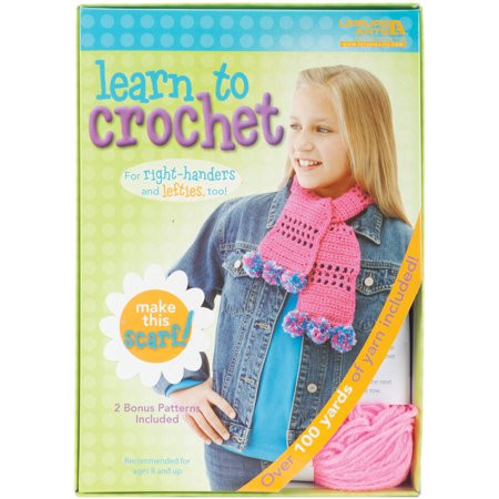 Learn to Crochet Kits Awesome Learn to Crochet Kit Scarf Walmart Of Amazing 49 Photos Learn to Crochet Kits