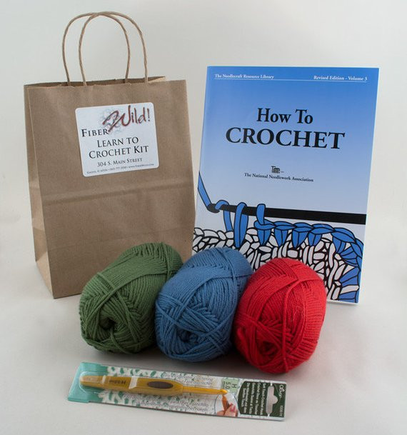 Learn to Crochet Kits Beautiful I Can Learn to Crochet Kit by Fiberwild On Etsy Of Amazing 49 Photos Learn to Crochet Kits