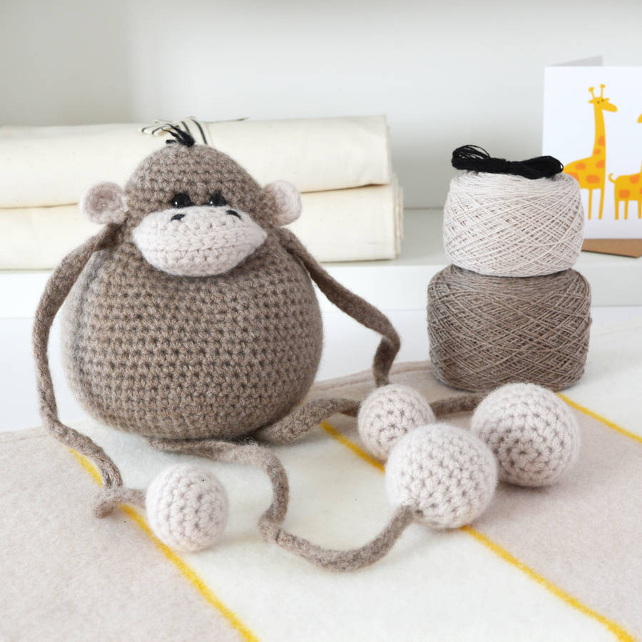 Learn to Crochet Kits Lovely Monkey Learn to Crochet Kit by Warm Pixie Diy Of Amazing 49 Photos Learn to Crochet Kits