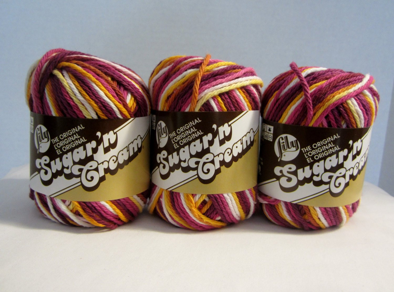Lily Sugar and Cream Best Of Cotton Yarn Lily Sugar N Cream Yarn Batik Variegated Cotton Of Gorgeous 43 Pictures Lily Sugar and Cream