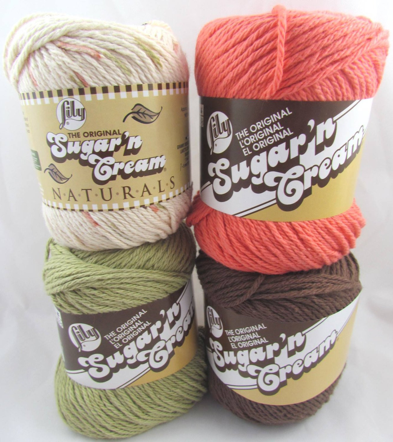 Lily Sugar and Cream Lovely sonoma Lily Sugar N Cream Yarn with Matching Colors Of Gorgeous 43 Pictures Lily Sugar and Cream