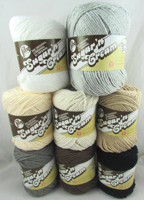 Lily Sugar and Cream Yarn Awesome Neutral Colors Lily Sugar N Cream Cotton Yarn Of Incredible 45 Images Lily Sugar and Cream Yarn