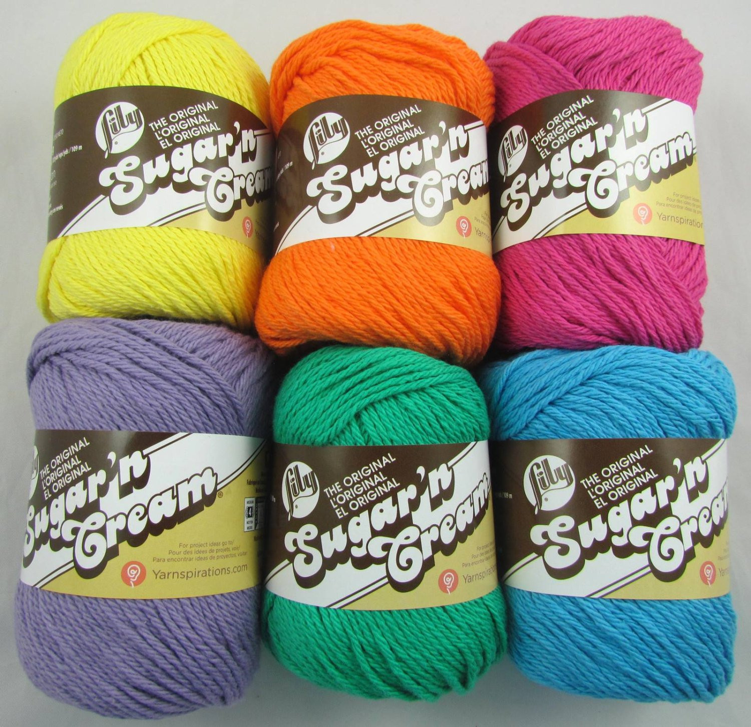 Lily Sugar and Cream Yarn Best Of Summer Lily Sugar N Cream Cotton Yarn Colors Of Incredible 45 Images Lily Sugar and Cream Yarn