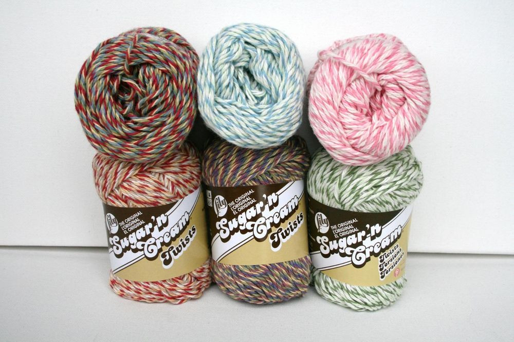 Lily Sugar N Cream Best Of Lily S Sugar N Cream Twists Yarn 2oz 4 Med Wt Knitting Of Top 41 Pictures Lily Sugar N Cream
