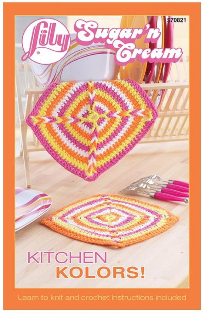 Lily Sugar N Cream Patterns Awesome Lily Sugar N Cream Kitchen Kolors Knit and Crochet Of Perfect 45 Ideas Lily Sugar N Cream Patterns
