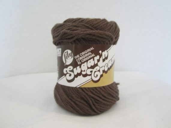 Lily Sugar N Cream Yarn Lovely Brown Cotton Yarn Lily Sugar N Cream Yarn Warm Brown Of Contemporary 41 Pics Lily Sugar N Cream Yarn