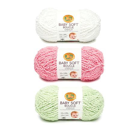 Lion Brand Baby soft Awesome Lion Brand Baby soft Boucle Yarn 3 Pack Of Charming 44 Pictures Lion Brand Baby soft