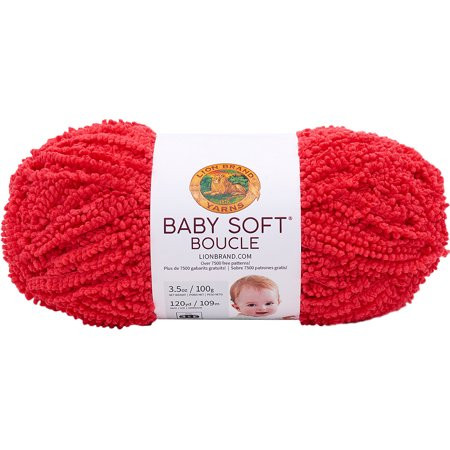 Lion Brand Baby soft Yarn Lovely Lion Brand Baby soft Boucle Yarn Scarlet Walmart Of Unique 42 Images Lion Brand Baby soft Yarn