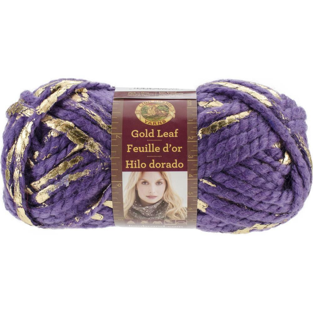 Lion Brand Bulky Yarn Awesome Lion Brand Purple Gold Leaf Yarn Bulky Weight Acrylic Wool Of Contemporary 41 Pictures Lion Brand Bulky Yarn
