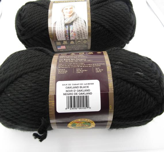 Lion Brand Bulky Yarn Best Of Lion Brand Hometown Usa Yarn Super Bulky 6 Oakland Black Of Contemporary 41 Pictures Lion Brand Bulky Yarn