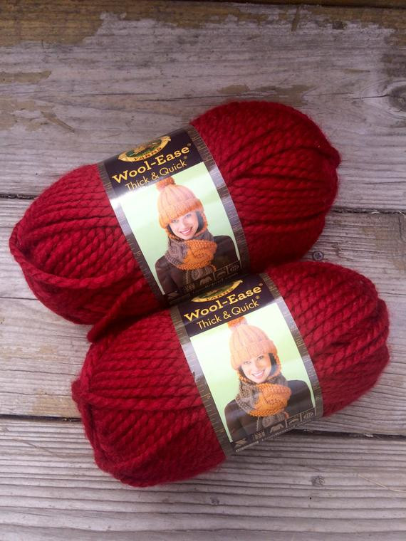 Lion Brand Chunky Yarn Inspirational Items Similar to Lion Brand Yarn Wool Ease Thick and Of Luxury 46 Pictures Lion Brand Chunky Yarn