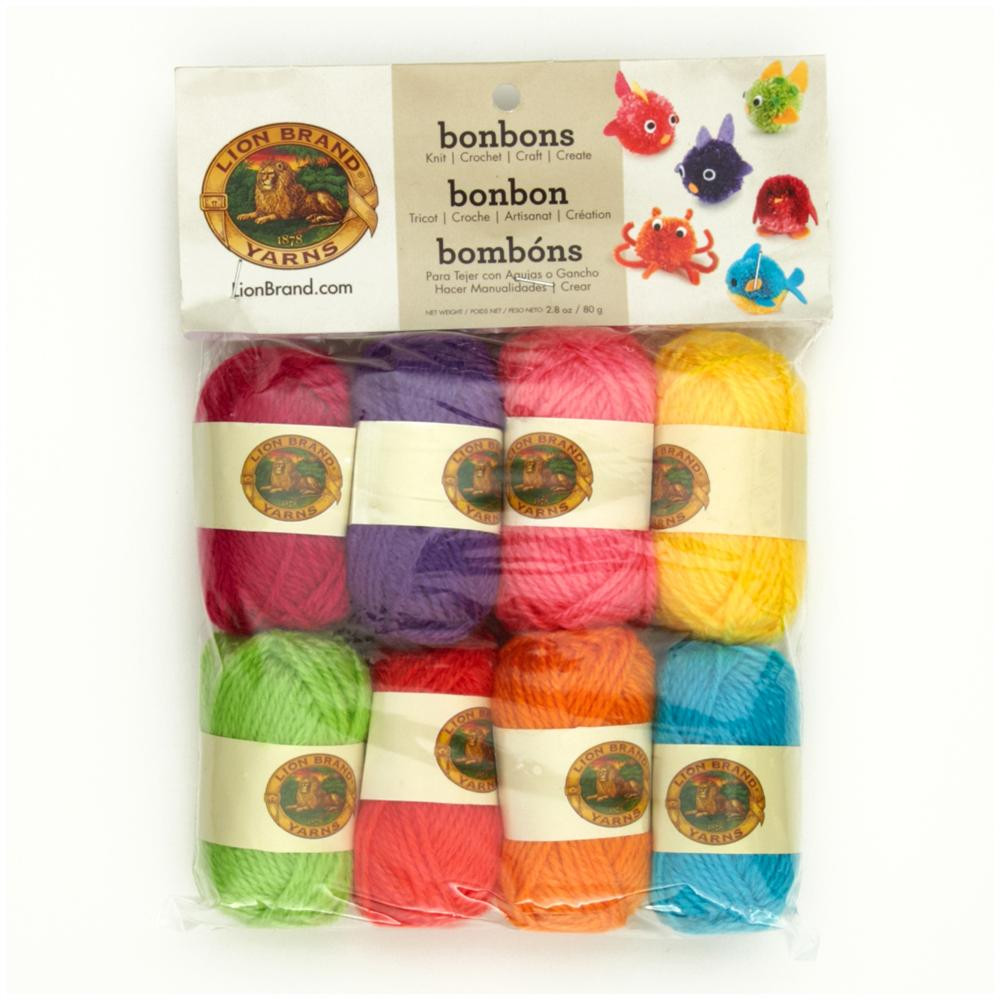Lion Brand Discount Yarn Awesome Lion Brand Bonbons Yarn Pack Brights Discount Designer Of Contemporary 48 Pictures Lion Brand Discount Yarn