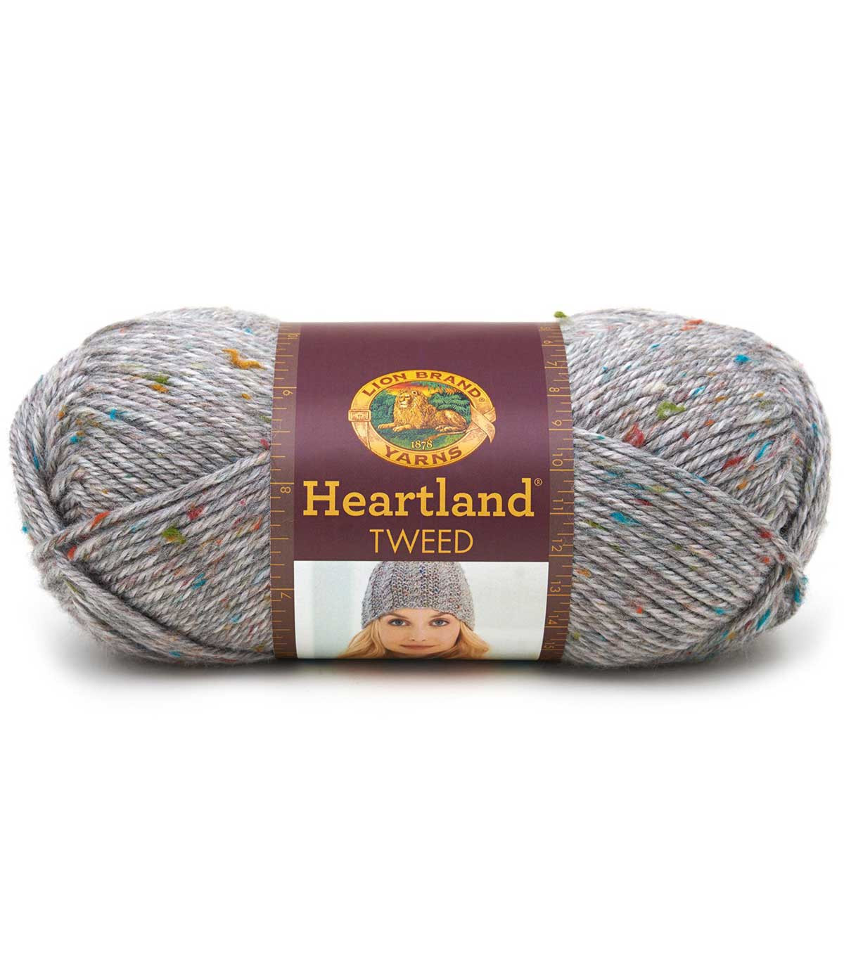 Lion Brand Heartland Tweed Yarn
