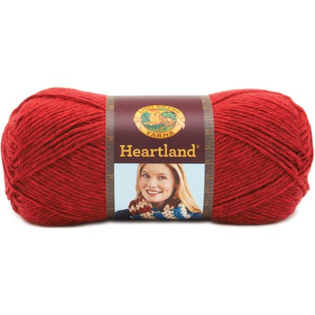 Lion Brand Yarn Heartland 3 Pack 100 Percent Acrylic Yarn