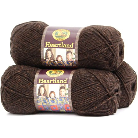 Lion Brand Heartland Fresh Lion Brand Yarn Heartland 100 Percent Acrylic Yarn 3 Pack Of Wonderful 40 Pics Lion Brand Heartland