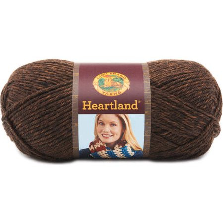 Lion Brand Heartland Yarn Sequoia Walmart