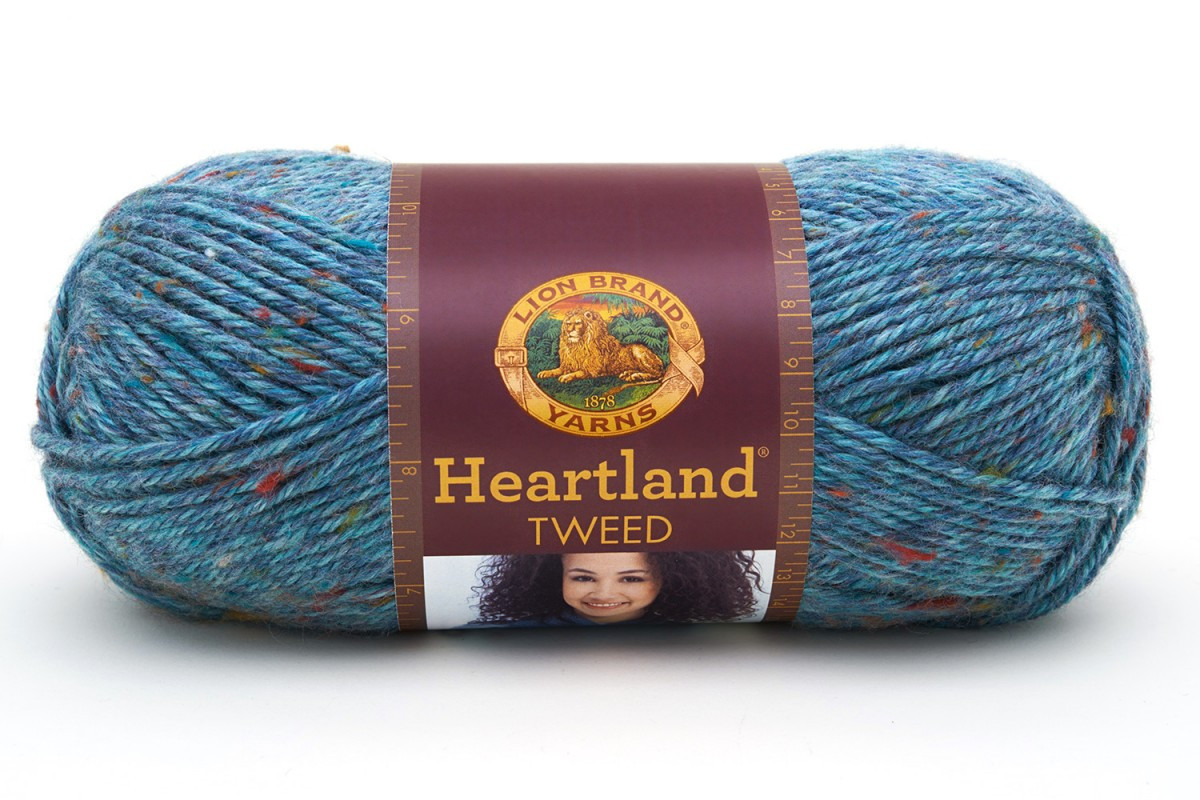 Lion Brand Heartland Luxury Lion Brand Yarn Heartland Glacier Bay Tweed Of Wonderful 40 Pics Lion Brand Heartland