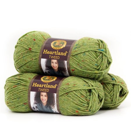 Lion Brand Heartland New Lion Brand Yarn Heartland 100 Percent Acrylic Yarn 3 Pack Of Wonderful 40 Pics Lion Brand Heartland