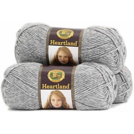 Lion Brand Heartland Unique Lion Brand Yarn Heartland 100 Percent Acrylic Yarn 3 Pack Of Wonderful 40 Pics Lion Brand Heartland