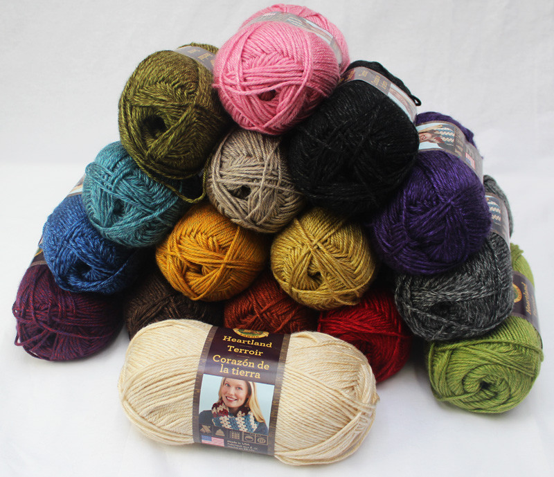 Lion Brand Heartland Yarn Elegant This Just In New Yarns & New Colors Of A Customer Favorite Of Charming 45 Models Lion Brand Heartland Yarn