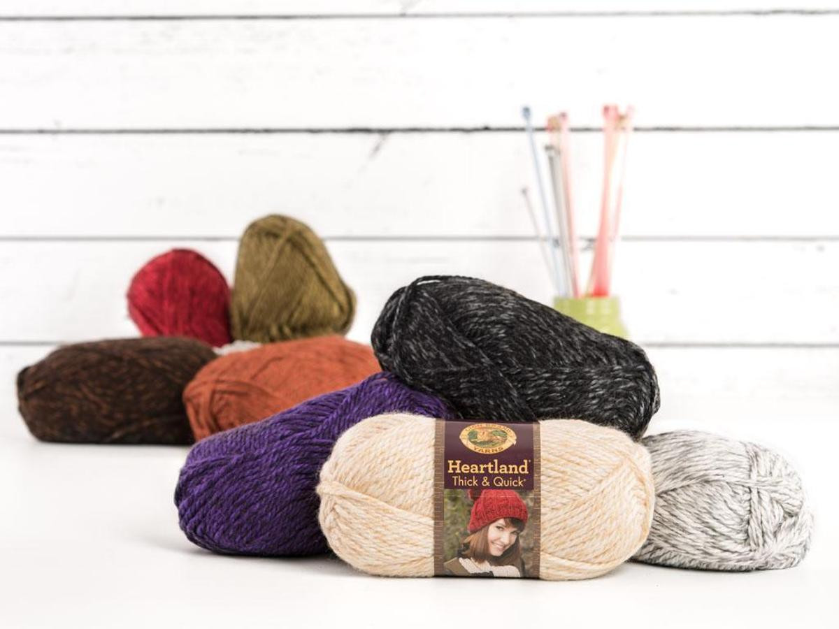 Lion Brand Heartland Yarn Luxury Lion Brand Heartland Thick and Quick Yarn Of Charming 45 Models Lion Brand Heartland Yarn