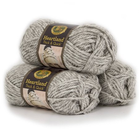 Lion Brand Yarn Heartland Thick and Quick Classic Yarn