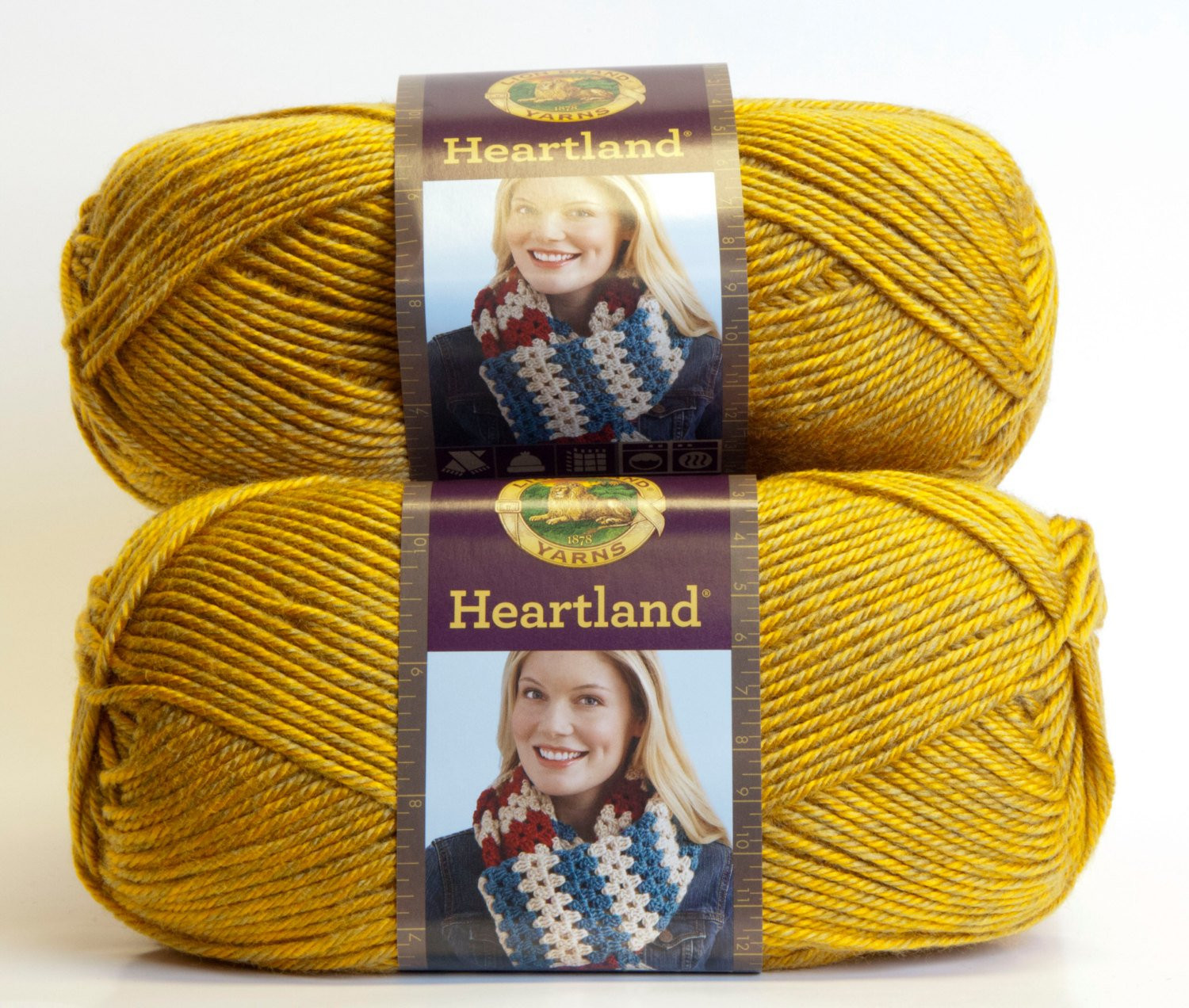 Lion Brand Heartland Yarn Unique Lion Brand Heartland Acrylic Yarn Yellowstone by Penandhook Of Charming 45 Models Lion Brand Heartland Yarn